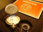 Fullmetal Alchemist Pocket Chain Watch with Necklace Gift Box Full Metal Cosplay