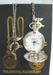 Fullmetal Alchemist Pocket Watch & Necklace Ring Box Set Cosplay Full Metal