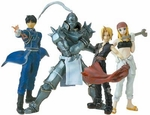 Fullmetal Alchemist Trading Arts Figure Series 1 Set of 4 Full Metal