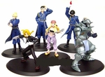 Fullmetal Alchemist Trading Figure Set of 6 Full Metal