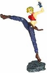 King of Fighters 2000 1/12 Scale Statue Blue Mary Figure