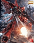 MG Sinanju Anime Color Ver, Master Grade Gundam Model Kit