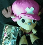 "One Piece 8 "" Inches Plush Doll - Chopper"