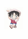 "One Piece 8 "" Inches Suction Cup Plush Doll - Luffy"