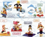 One Piece Gashapon Capsule Figure Series 3 Set of 7