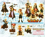 One Piece Gashapon Capsule Figure Series 6 Set of 7