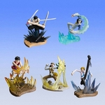 One Piece Gashapon Capsule Figure Set of 5