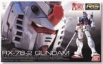 RG Gundam RX-78-2 Real Grade 1/144 Model Kit