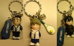 The Prince of Tennis Keychain Figure Set of 5