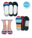 1199 Rugby Stripe Footie 3 PK