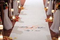 Autumn Personalized Cloth Aisle Runner