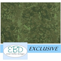 Floral Emerald Aisle Runner