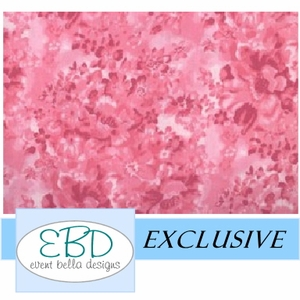 Floral Passion Pink Aisle Runner