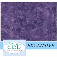 Floral Passion Purple Aisle Runner