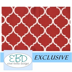 Pemberley Red Aisle Runner