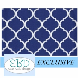Pemberley Royal Blue Aisle Runner