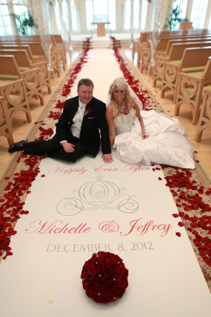 wedding aisle decor | aisle runner ideas | personalized cloth