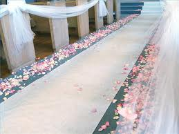 Plain Aisle Runner