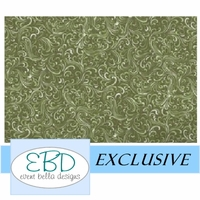 Swirly Girl Avocado Aisle Runner