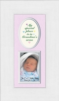 Baby Girl Photo Frame for Grandma