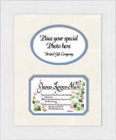 "Children Photo Frame - Boy - Jesus Loves Me - 10"" x 12"""
