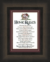 Christian Home Rules Scripture Values