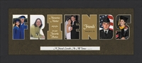 "FRIENDS Word Photo Frame 10"" X 22"""