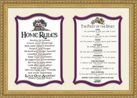 FRUIT OF THE SPIRIT/HOME RULES