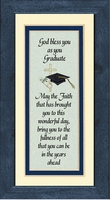 "Graduation Saying Framed Gift 4.5"" x 8"""