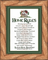 Home Rules in Country Oak