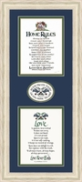 """Home Rules & Love is Patient - 10"""" x 22"""""""