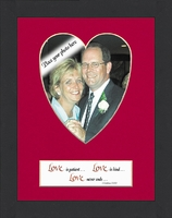 "LOVE PHOTO FRAME 7"" X 9"""