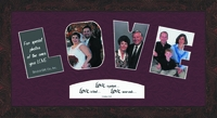 "LOVE Word Photo Frame 9"" X 17"""