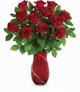 Wrapped In Roses Bouquet Valentine Day