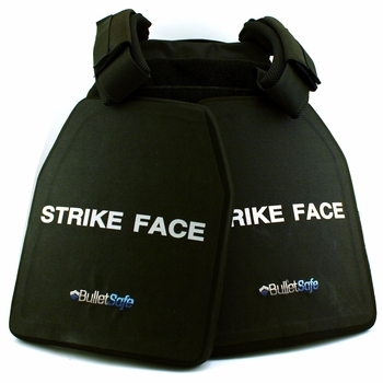 The BulletSafe Ready Pack - 2 Plates and A Carrier