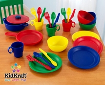27 Piece Primary Play Cookware