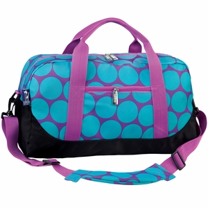 Big Dot Aqua Duffel Bag by Wildkin