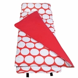 Big Dot Red & White Nap Mat by Wildkin