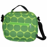 Big Dots Green Original Lunch Bag by Wildkin