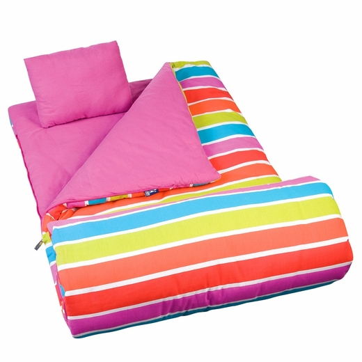 Bright Stripes Original Sleeping Bag by Wildkin
