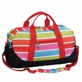 Bright Stripes Sleepover Duffel by Wildkin