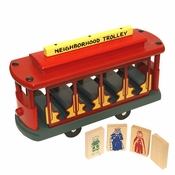 Classic Trolley Wooden Toy by Holgate Toys