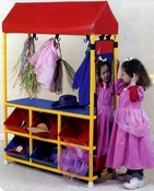 Costume Center Rack System by Children's Factory