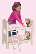 Doll Bunk Bed in White by Guidecraft