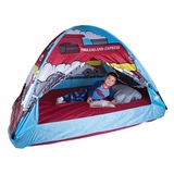 Dream Land Express Train Bed Tent by Pacific Play Tents