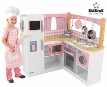 Gourmet Corner Kids Play Kitchen
