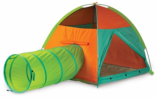 Hide-Me Play Tent & Tunnel Combination by Pacific Play Tents