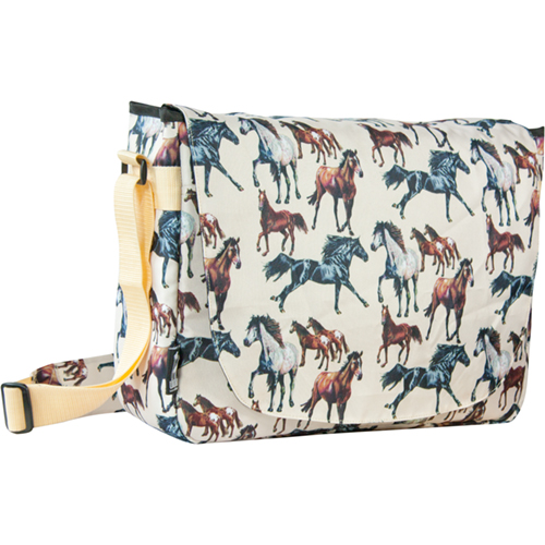 Horse Dreams Laptop Messenger Bag by Wildkin