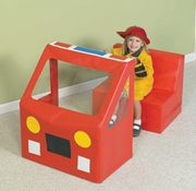 Let's Imagine Fire Engine Play Vehicle  by Children's Factory