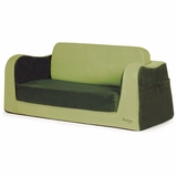 Little Sofa and Sleeper Bed for Children Green by P'kolino